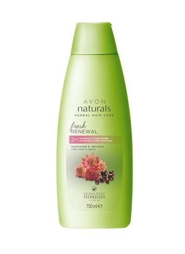 Avon Naturals Frenk Üzümü Şampuan + Saç Kremi 700 Ml Renkli